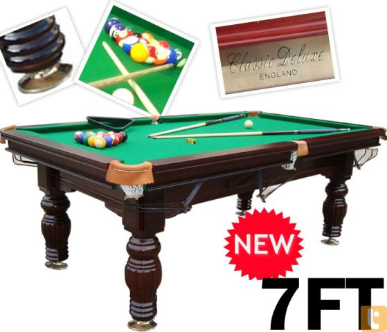Classic deluxe pool tables adelaide billiard tables for Pool show adelaide