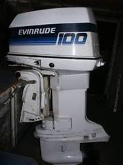 V4 Evinrude 100HP outboard motor