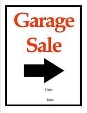 Garage Sale -  39 COOINDA AVE REDWOOD PARK sunday 2nd oct