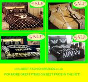 VERSACE,  ARMANI,  GUCCI .... 6pc SHEET SETS AND MORE @