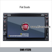 FIAT Scudo OEM Car stereo radio system DVD player TV bluetooth GPS