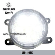 Suzuki Swift DRL LED Daytime Running Lights Car headlight parts Fog la