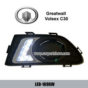Greatwall Voleex C30 DRL LED Daytime Running Lights Car headlight