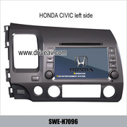 Honda CIVIC factory radio Car DVD Player GPS Navi bluetooth TV