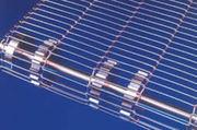 Wire conveyor belt to convey glass,  metals,  food