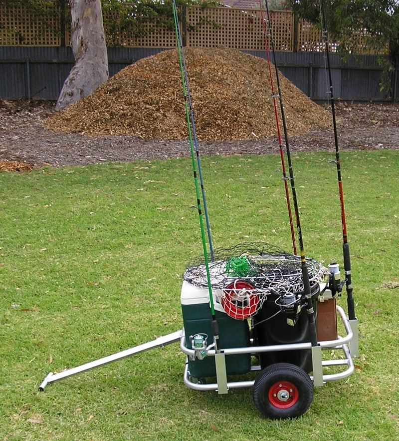 Fishing tackle cart trolley or caddy adelaide hobbies for Fishing caddy bucket