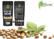 Augment your nutrition with Organic Hulled Hemp Seeds