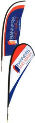Teardrop Banners & Wing Banners for Promotion