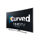 genuine Samsung 4K UHD JU7500 Series Curved Smart TV