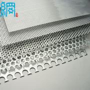 Galvanized steel perforated metal sheet