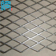 0.3-8.0mm Thick Expandable Sheet Metal Diamond Mesh