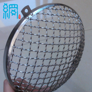 Woven Crimped Wire Mesh Car Lamp Cover