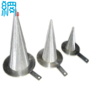 Stainless steel mesh conical strainer