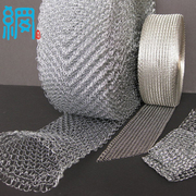 Stainless steel knitted wire mesh (S.S. Knitted wire mesh)