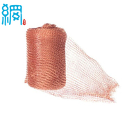 Rodent proofing knitted copper mesh