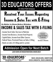 Sales Tax With E-Filing