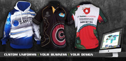 Sublimated shirts in a range of different fabrics | Promo Corner