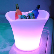 LED Ice Bucket Furniture Outdoor Weatherproof in 16 Colours