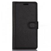 MyLeatherWalletCase Huawei P10 Black