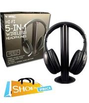5 in 1 Hi-Fi Wireless Headphones