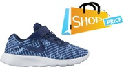 Nike Tanjun Print Velcro (Blue/White) - Boys