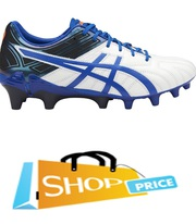 asics Legacy (White/Blue) Football Boot - Junior SALE size US 6 only