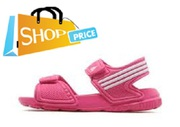 Adidas Akwah Sandal (Pink) - Girls size US 13 only