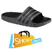 Adidas Duramo Slide (Black/White) - Mens