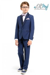 Boys navy suit | Oh My! Creations