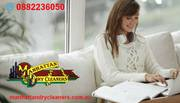 Most curtain dry cleaners can't wash your fabric as good as new,  only