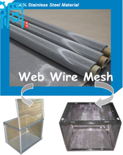 STAINLESS STEEL SHIELDING MESH FOR FARADAY CAGE FABRICATION