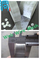 STAINLESS STEEL BATTERY CURRENT COLLECTOR WIRE MESH