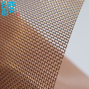 "0.011"" WIRE 16 MESH COPPER WIRE MESH FOR EMI/RFI SHIELDING"