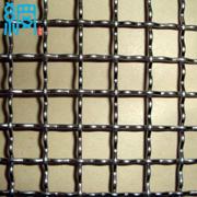 Double intermediate crimped wire mesh
