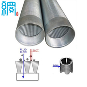Factory SS 304, SS 304L Continuous Slot Water Well Screen