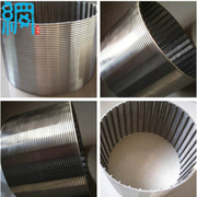 V shaped Wire Welded Stainless Steel Screens