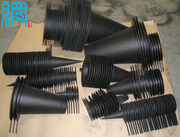 Carbon steel conical strainer