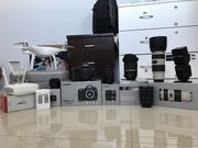 Canon 5D Mark III ,  Dji Drone and lenses
