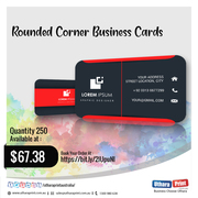 Uthara Print Australia - Rounded Corner Business Cards