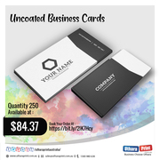 Uthara Print Australia - Uncoated Business Cards