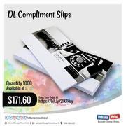 Uthara Print Australia - DL Compliment Slips (99 x 210 mm)