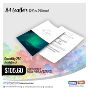 Uthara Print Australia - A4 Leaflets (210 x 297mm)