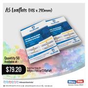 Uthara Print Australia - A5 Leaflets (148 x 210mm)