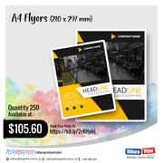 Uthara Print Australia - A4 Flyers (210 x 297 mm)