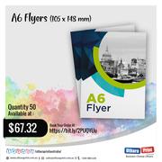 uthara Print Australia - A6 Flyers (105 x 148 mm)