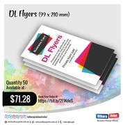 uthara Print Australia - DL Flyers (99 x 210 mm)