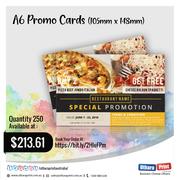 Uthara Print Australia - A6 Promo Cards (105mm x 148mm)