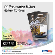 Uthara Print Australia - DL Presentation Folders (105mm X 210mm)