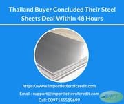 Avail SBLC MT760 from Us for Steel Sheet Deal