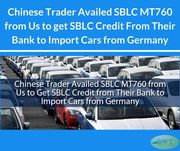 SBLC Credit to Import Cars – Import Credit – SBLC Providers